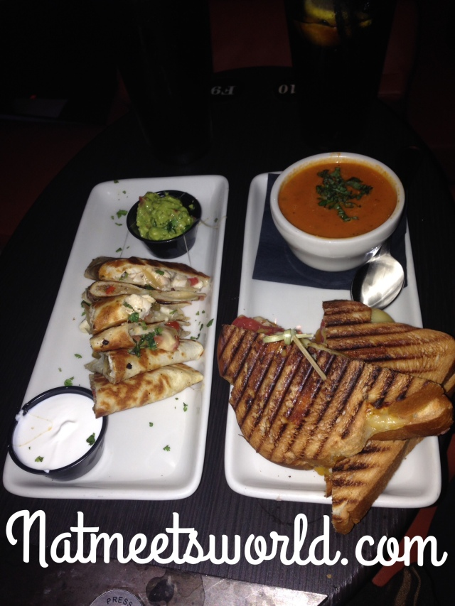 ipic quesadillas and grilled cheese