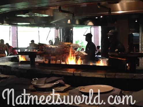 Ohana features an open grill where the chefs cook the star of your meal, the meat!