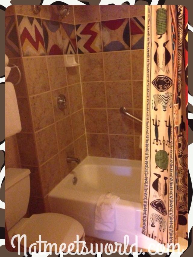 AKL bathroom in guest room.