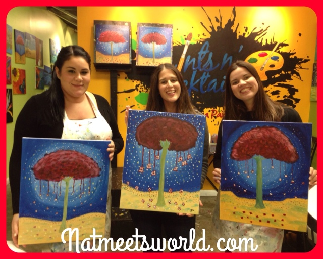 Check out our finished paintings!