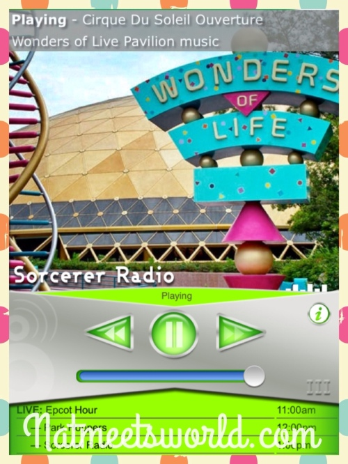 Remember this?  Music from the Wonders of Life pavilion in Epcot during the Park Hopper Hour.