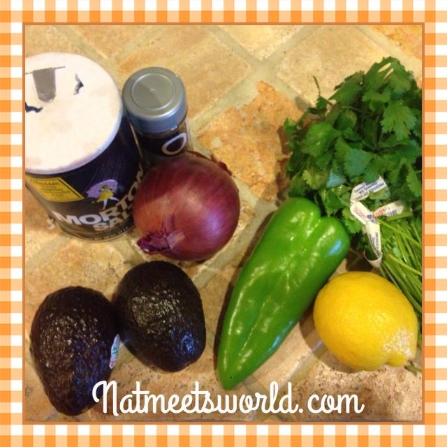 guacamoleingredients