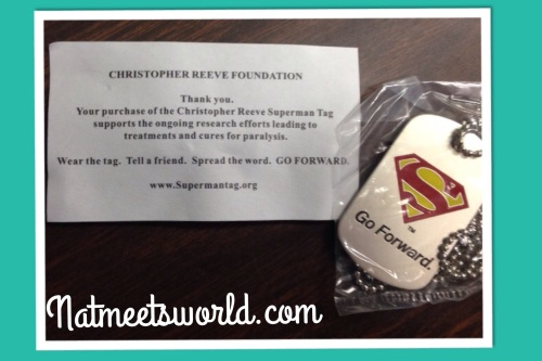 All of my little love bugs received this Superman dog tag necklace.  They loved it!