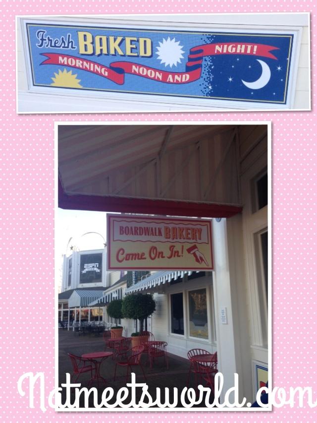 boardwalk bakery signs