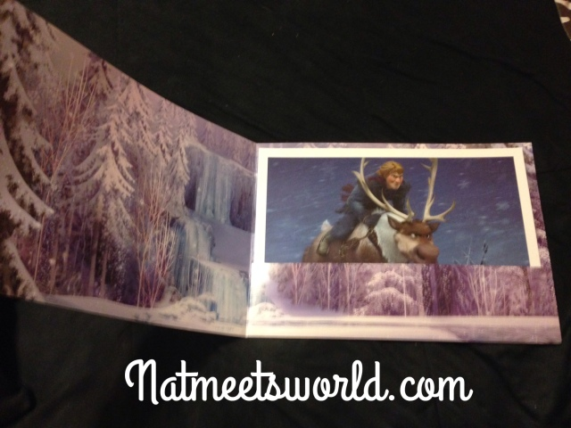 frozen lithograph interior folder