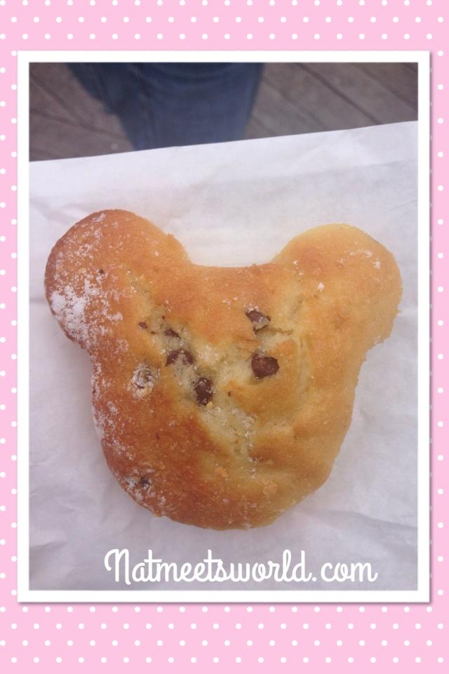 mickey chocolate chip muffin