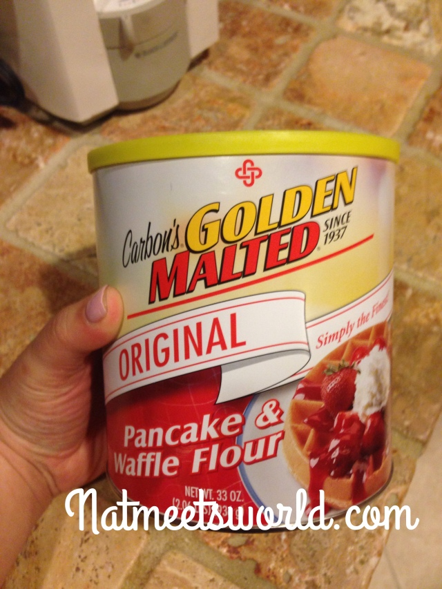 carbons golden malted pancake and waffle flour