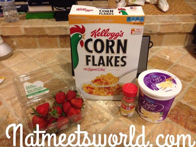 healthy parfait ingredients