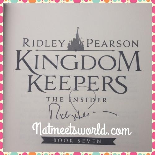 ridley pearson signature