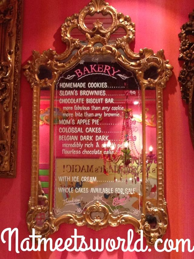 sloans bakery menu
