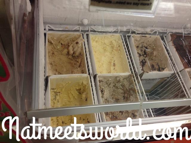 sloan's ice cream area