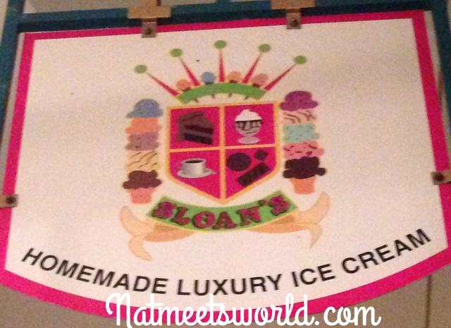 sloan's ice cream sign