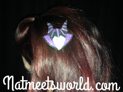 maleficent barette