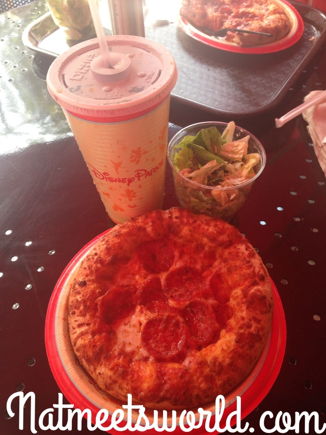 pizza planet meal