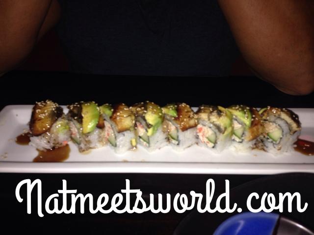 ra sushi dragon roll