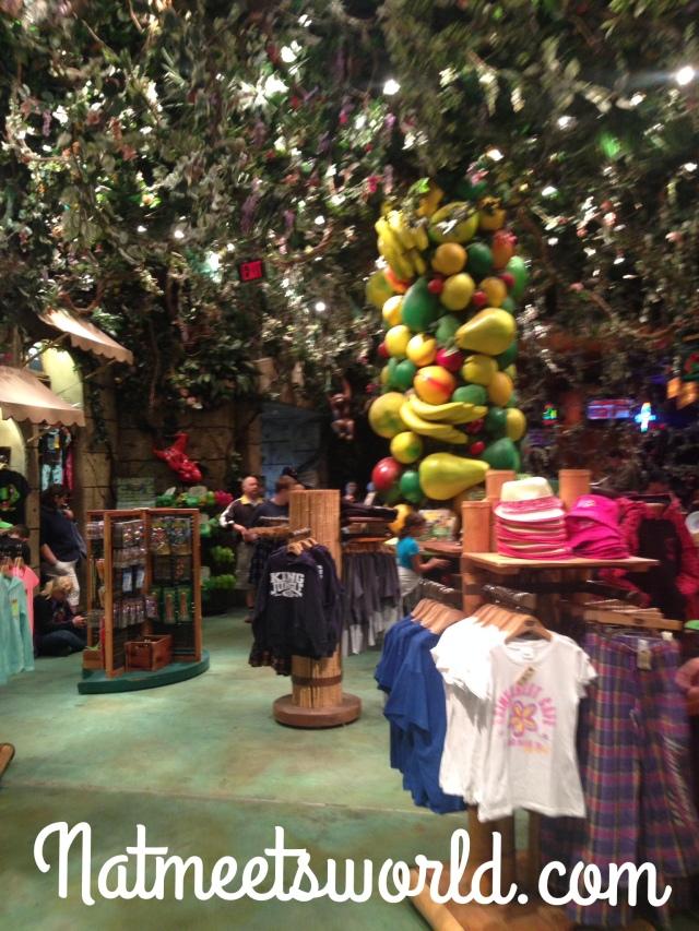 rainforest cafe retail