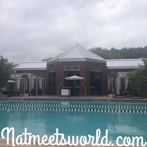 cabana pool view