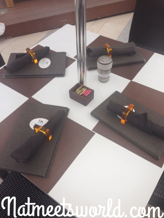 cabana table set