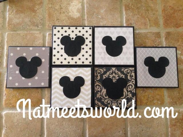 mickey coasters