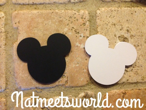 mickey die cut