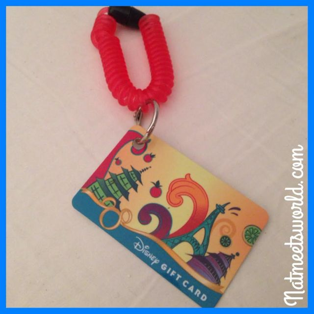epcot gift card