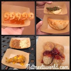 food and wine festival food