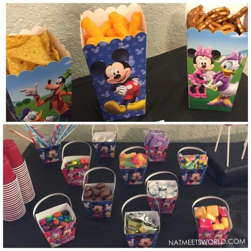 Disney Side party snacks
