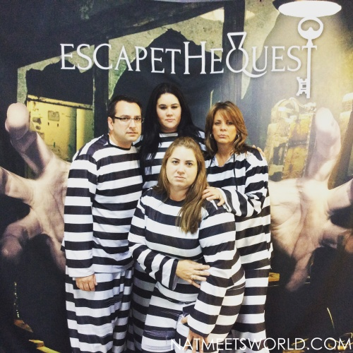 My fellow inmates and I after our quest!