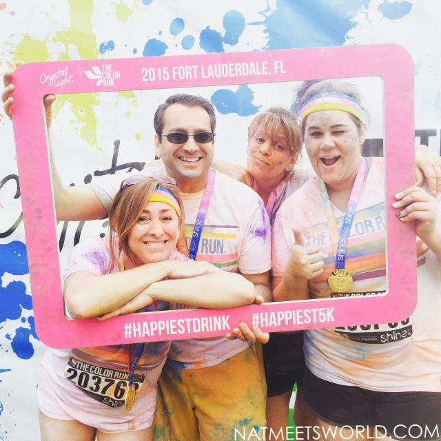color run crystal light group
