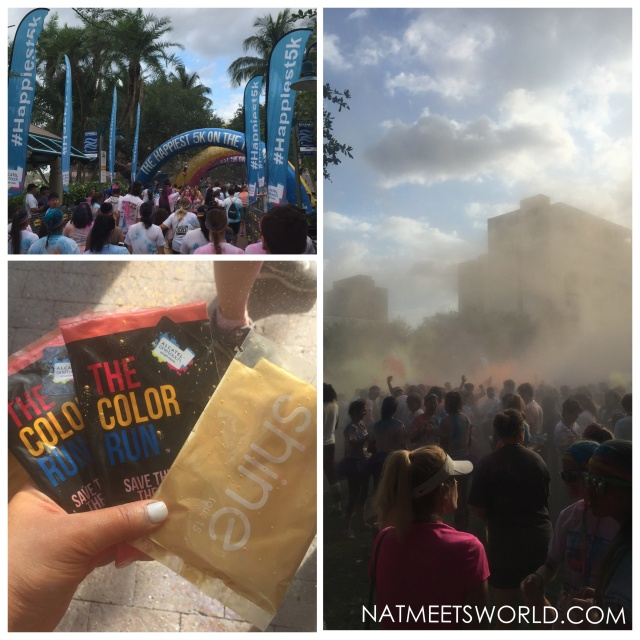 color run finish line party