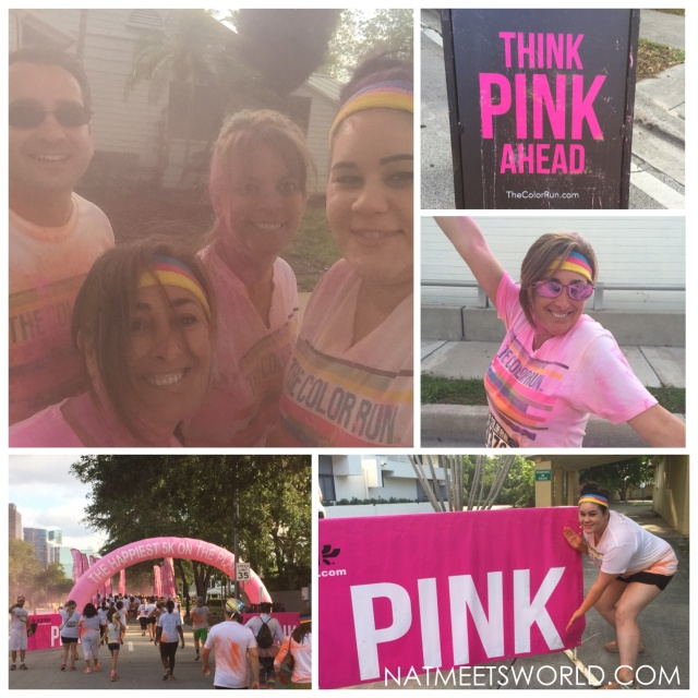 color run pink zone