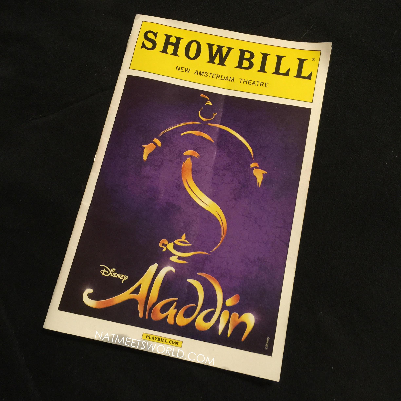 Aladdin On Broadway At New Amsterdam Theater Nati Meets