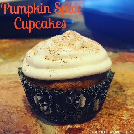 pumpkin spice cupcake2