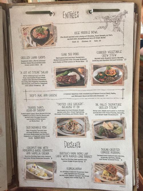 skipper canteen menu 2