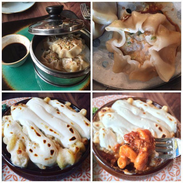 skipper canteen sea shu mai and mac and cheese
