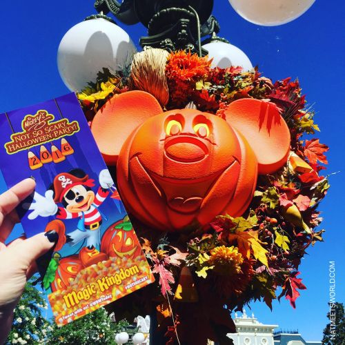 fall may not be here just yet but it is definitely around the corner along with my favorite walt disney world event mickeys not so scary halloween party